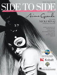 ARIANA GRANDE FT. NICKI MINAJ SIDE TO SIDE PIANO SHEET MUSIC