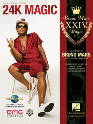 BRUNO MARS 24K MAGIC PIANO SHEET MUSIC