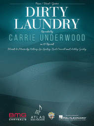 CARRIE UNDERWOOD DIRTY LAUNDRY PIANO SHEET MUSIC